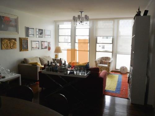 Excelente Apartamento 2 Dts, 1 Suíte, 1 Vaga Com 125 M2 Em Higienópolis, Imperdível!!! - Bi2100