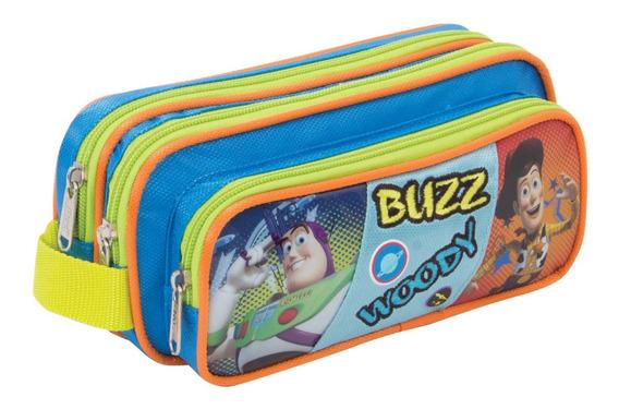 Lapicera Toy Story Triple Cierre Buzz Ligthyear Woody Original