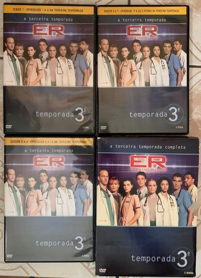 Dvd Er Plantão Médico 3 Temporada Completa