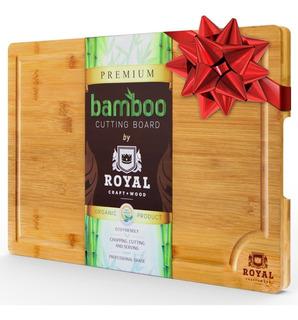 Tabla Cortar Picar Bamboo Organico Anti-microbial Heavy Duty