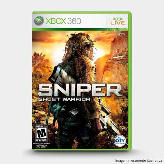 Sniper Ghost Warrior - Original Para Xbox 360 Novo