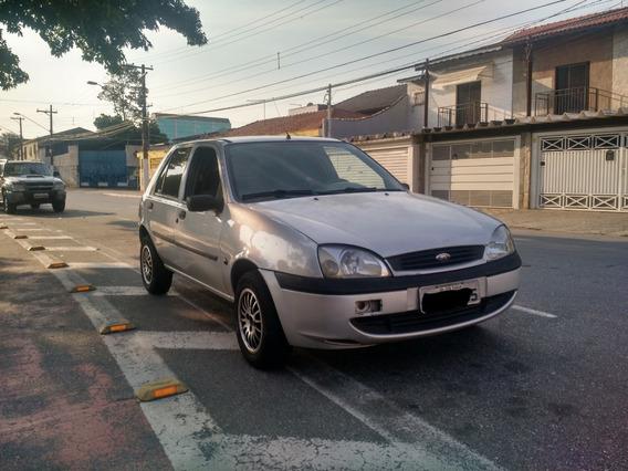 Ford Fiesta Street Prata - Motor 1.0 Zetec Rocam - 05 Portas