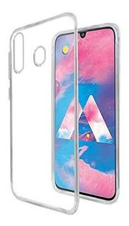 Carcasa Gel Samsung Galaxy M30 + Mica Vidrio - Prophone