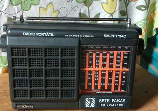 Radio Motobras 7 Faixas Am Fm Semir Novo Na Caixa