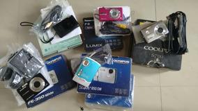 5 Cameras Na Avaria Somente Lote