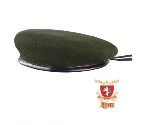 Boina Militar Verde Oliva Francesa - 100% Original