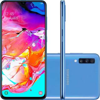 Celular Samsung Galaxy A70 Duos Tela 6.7 128gb Azul