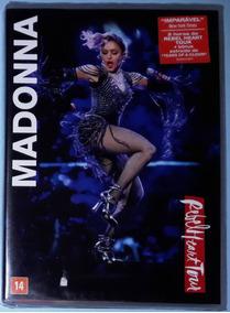Madonna Dvd Rebel Heart Tour Live - 2017 Show Novo Lacrado