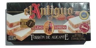Turron Español El Antiguo De Alicante X 150 Gr.