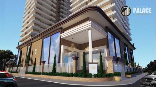 Imagem 1 de 30 de Apartamento Com 3 Dormitórios À Venda, 105 M² Por R$ 657.000,00 - Canto Do Forte - Praia Grande/sp - Ap2799