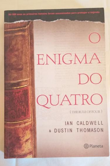 Livro Usado O Enigma Do Quatro