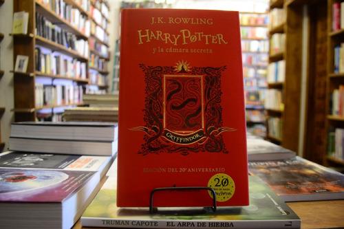Harry Potter Y La Cámara Secreta. Gryffindor. J. K. Rowling.