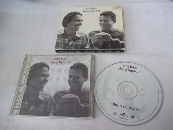 Cd - Edu Lobo E Chico Buarque - Album De Teatro - Mpb