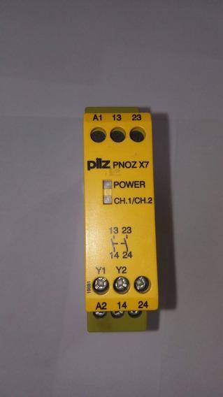 Rele Pilz Pnozx7 24vdc Rele De Segurança Pilz