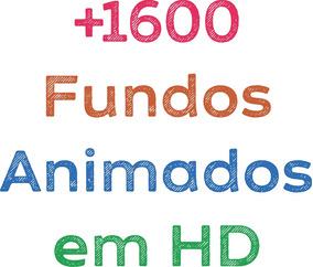 Pacote De Fundos Animados (motion Backgrounds) - 1