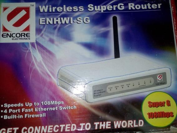 Router Superg Wireless Enhwi-sg Encore