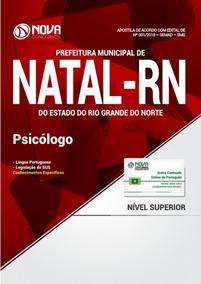 05c0e9533ece Apostila Prefeitura De Natal - Rn (sms) 2018 - Psicólogo