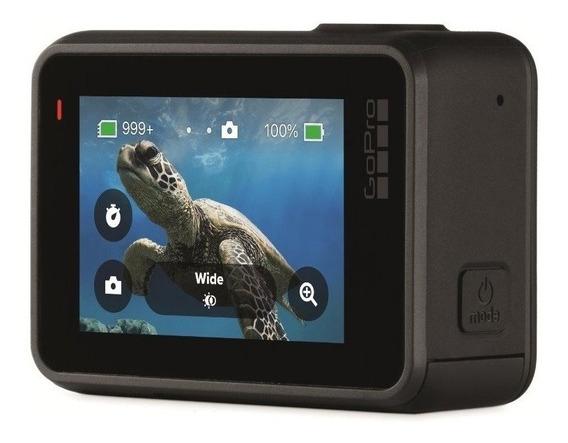 Câmera Digital Gopro Hero7 Black 12mp 4k60 Prova D`agua 10m