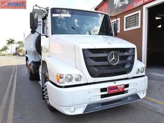 Caminhão Mb Atron 2324,caçamba, 2014 C 246000 Km C/ar Cond.