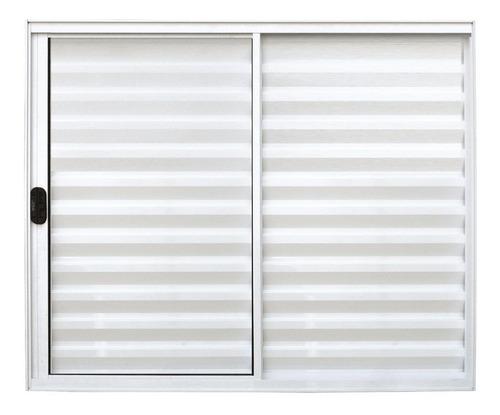 Veneziana 3 Folhas De Alumínio Branco 1,00 X 1,50
