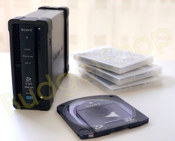 Drive Xdcam Pdw-u2 Usb 3.0 Sony + 3 Discos 23gb Sony Grátis