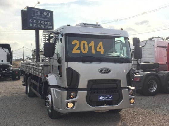 Ford Cargo 1519 Carroceria Ano 2014