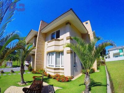 Casa De Alto Padrão Em Condominio Fechado Na Praia Brava - Ca0001