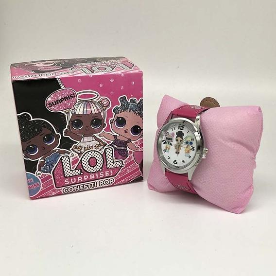 Relógio Menina Lol Surprise Com Caixa Personalizada