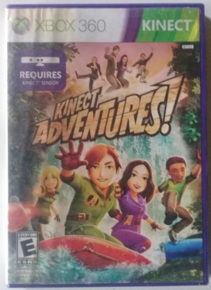 Jogo X Box 360 - Kinect Adventures - Mídia Física