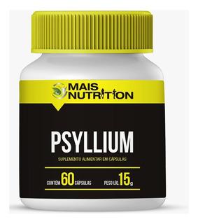 Psyllium Psillium 670 Mg 60 Capsulas