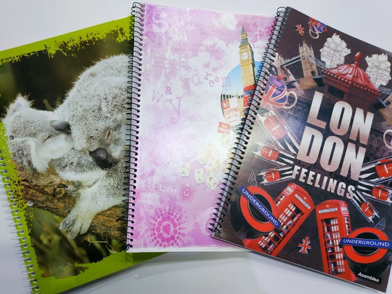 Cuaderno Universitario Con Espiral Rayado/cuadriculado