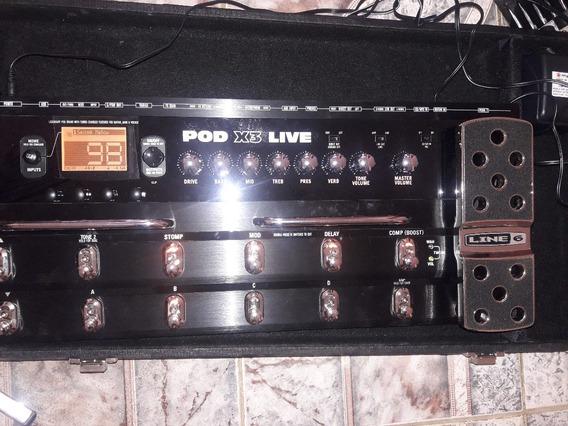Pedaleira De Guitarra Pod X3 Live
