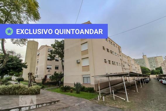 Apartamento No 4º Andar Com 2 Dormitórios - Id: 892952329 - 252329