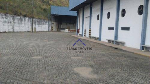 Imagem 1 de 13 de Galpão Para Alugar, 5453 M² Por R$ 60.000,00/mês - Distrito Industrial - Jundiaí/sp - Ga0048