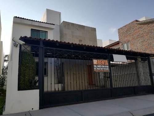 Casa En Renta En Punta Juriquilla 3 Rec