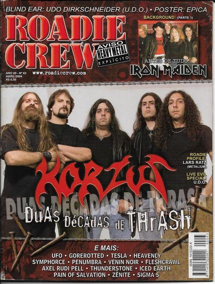 Revista Roadie Crew N° 63-ufo, Korzus, Iron Maiden