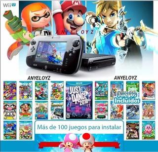 Pack Juegos Digitales Wii U. Son Mas De 130 Juegos! Oferta!