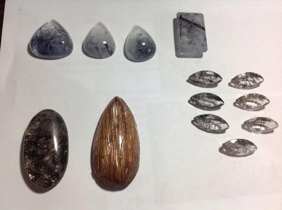 Pedras Preciosas De Cristal Rutilado