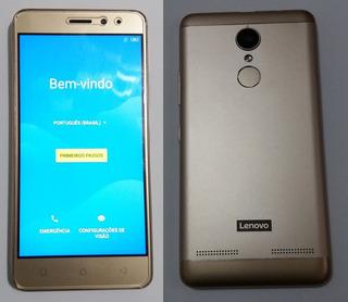 Celular Lenovo Vibe K6 Dourado 32gb Usado Em Ótimo Estado