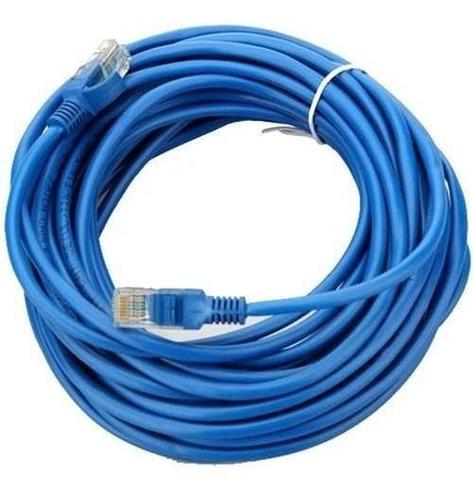 Cable De Red 40m Cat 6 / 40 Metros Categoría 6