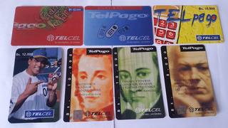 Tarjetas Telcel, Coleccionables, Movistar