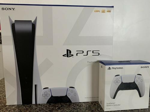 Versão Do Disco Do Console Do Sony Playstation 5