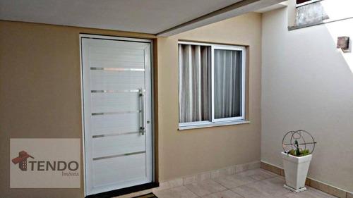 Imagem 1 de 14 de Casa Com 3 Dormitórios À Venda, 100 M² Por R$ 405.000,00 - Vila Florença - Indaiatuba/sp - Ca0115