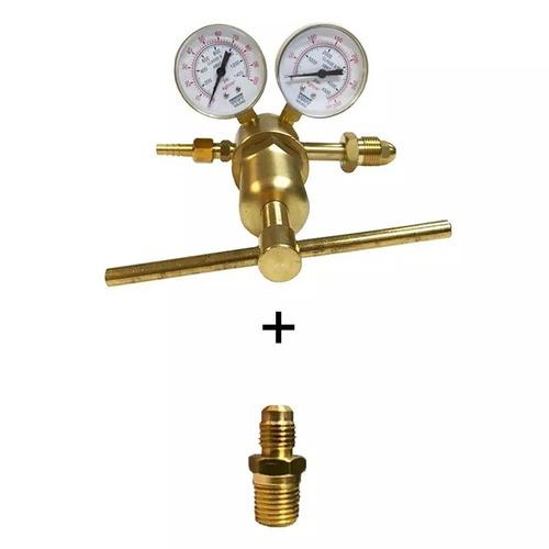 Regulador Nitrogênio 50kgf/cm² Ou 700 Psi - Alta Pressão W38