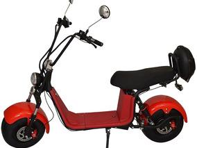 Bicicleta Moto Chopper Elétrica 1500w Vermelha