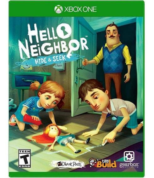 Game Hello Neighbor Hide Seek Xbox One Disco Fisico Original