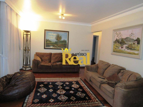 Apartamento Com 3 Dormitórios À Venda, 169 M² Por R$ 1.530.000 - Vila Romana - São Paulo/sp - Ap6285