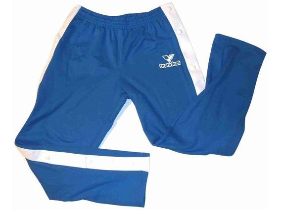 Pantalón Largo Desmontable Team Foot Azul Francia