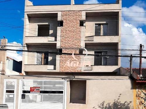 Cobertura Com 2 Dormitórios À Venda, 60 M² Por R$ 440.000,00 - Parque Das Nações - Santo André/sp - Co0850