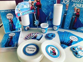 Cotillón Personalizado Intantil Frozen X 30 Partybox